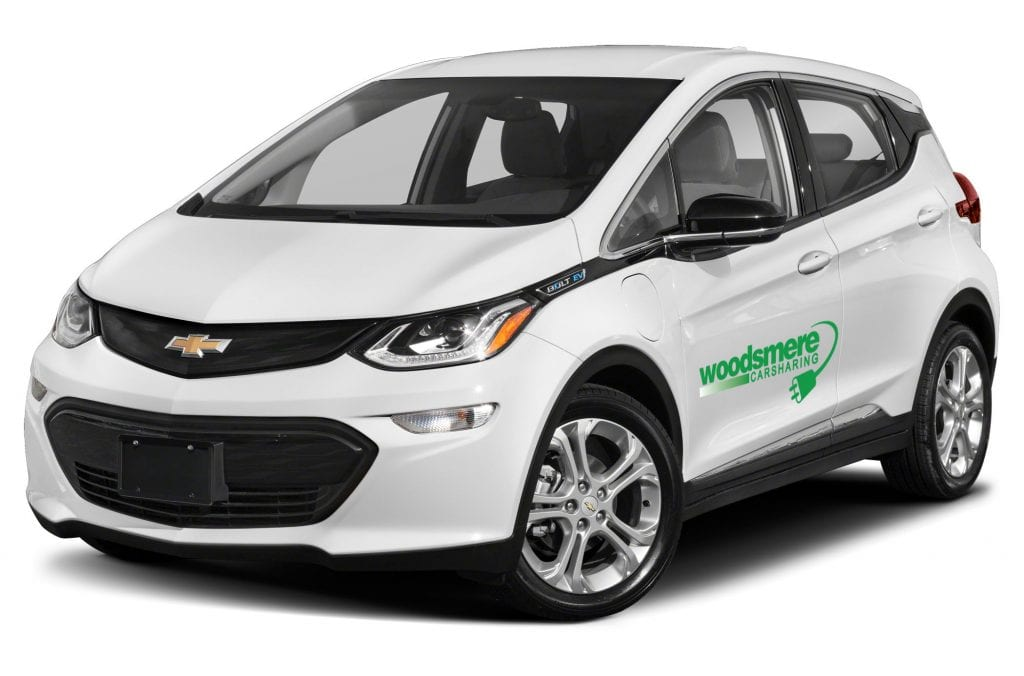 Woodsmere Carsharing - Chevy Bolt